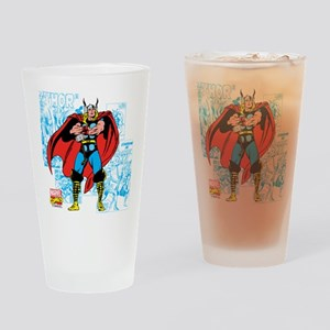 Marvel Comics Thor Drinking Glass