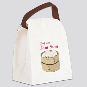 Dim Sum Canvas Lunch Bag