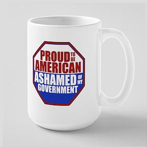 Government Shame Large Mug