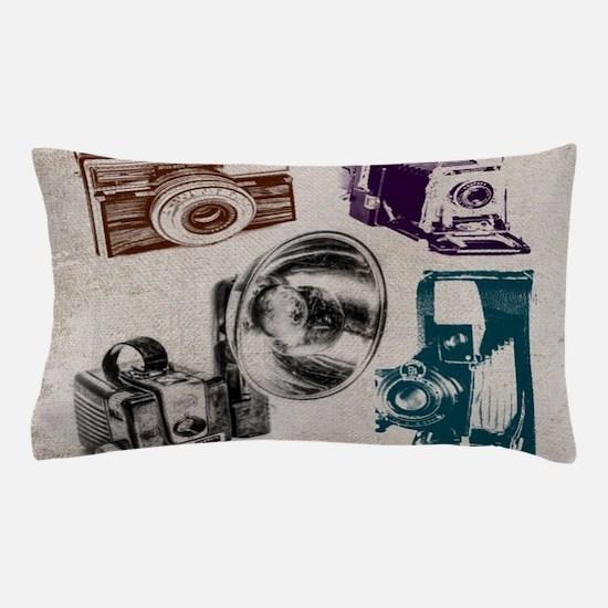 Cute Camera Pillow Case