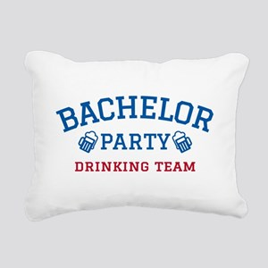 Bachelor party drinking team Rectangular Canvas Pi