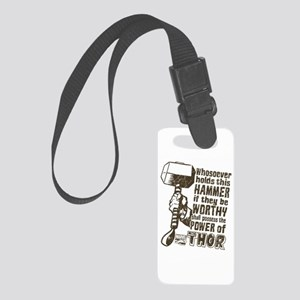 Marvel Comics Thor Retro Thor's Small Luggage Tag