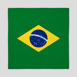 Brazil Flag Queen Duvet