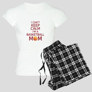 I can't keep calm, I am a basketball mom Pajamas