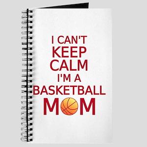 I can't keep calm, I am a basketball mom Journal