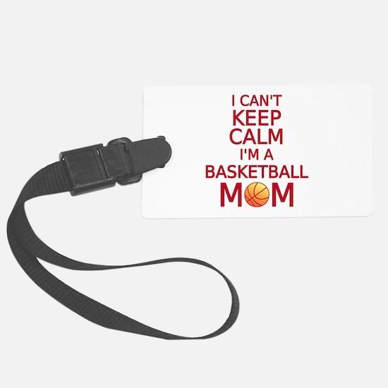 I can't keep calm, I am a basketball mom Luggage T