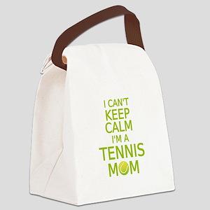 I can't keep calm, I am a tennis mom Canvas Lunch