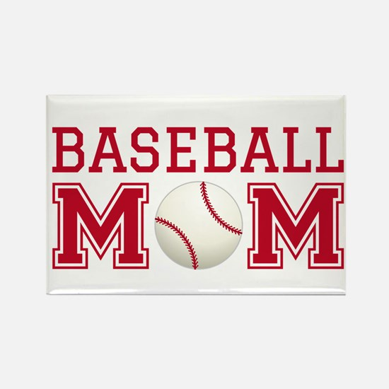 Baseball mom Magnets