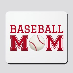 Baseball mom Mousepad