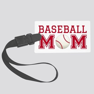 Baseball mom Luggage Tag