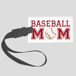 Baseball mom Luggage Tag