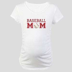 Baseball mom Maternity T-Shirt