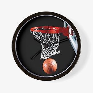 Basketball Point Wall Clock