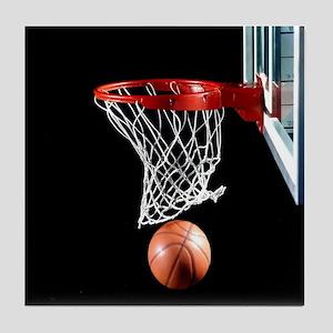 Basketball Point Tile Coaster