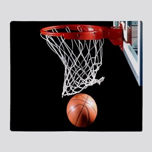 Basketball Point Throw Blanket