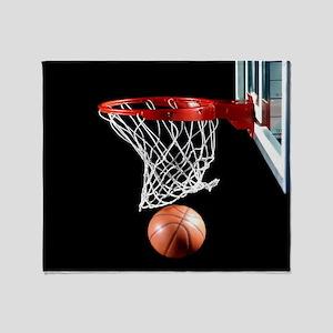 Basketball Point Throw Blanket