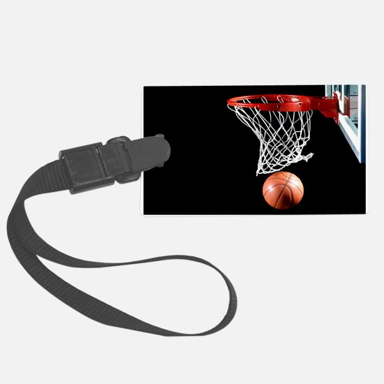 Basketball Point Luggage Tag
