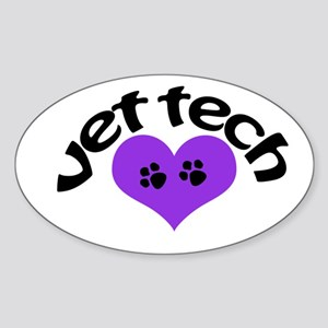 purple paw heart design Sticker