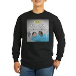 Clam Bake Long Sleeve Dark T-Shirt