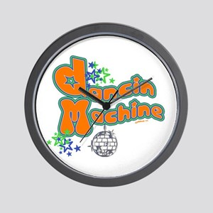 Dancin' Machine 2 Wall Clock
