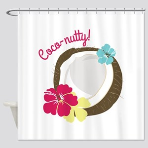 Coco-nutty Shower Curtain