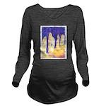 Raising of the Stones Long Sleeve Maternity T-Shir