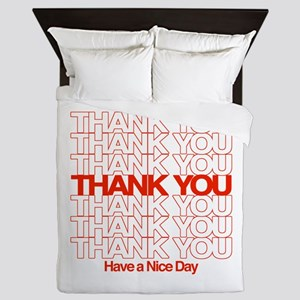 Thank You Have A Nice Day Queen Duvet