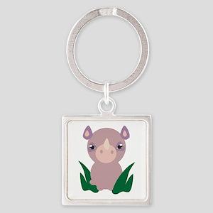 Little Rhino Keychains