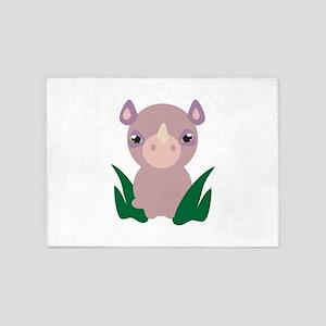 Little Rhino 5'x7'Area Rug
