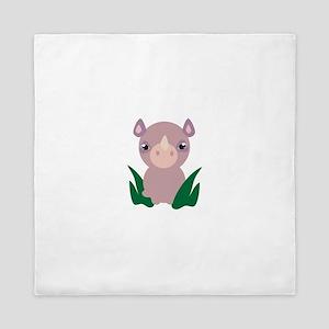 Little Rhino Queen Duvet