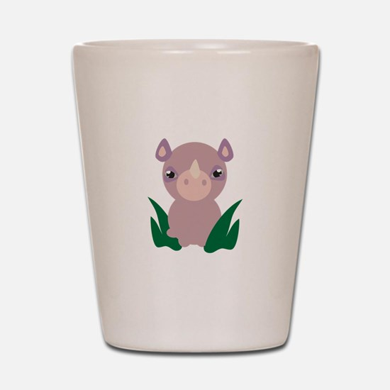 Little Rhino Shot Glass