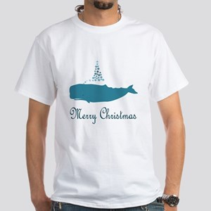 Whale Merry Christmas T-Shirt