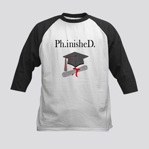 Ph.inisheD. Kids Baseball Jersey