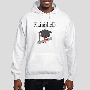 Ph.inisheD. Hooded Sweatshirt