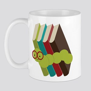 Book Lover Bookworm Mugs