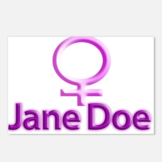 Jane Doe Postcards (Package of 8)