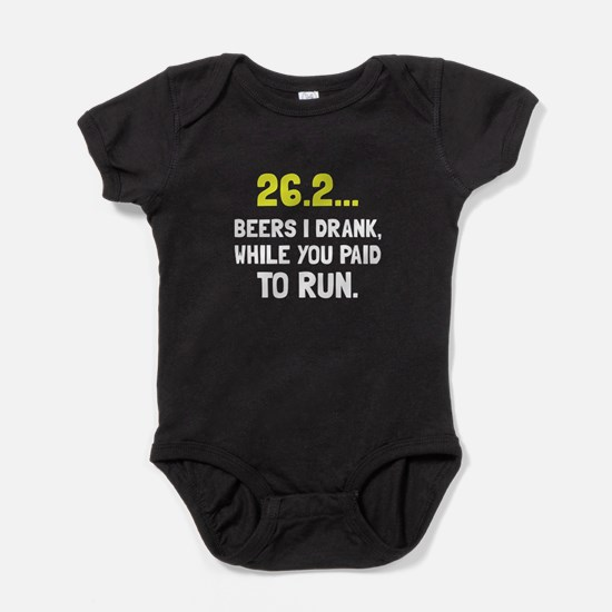 26 Beers Run Baby Bodysuit