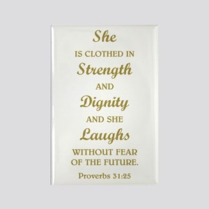 PROVERBS 31:25 Magnets