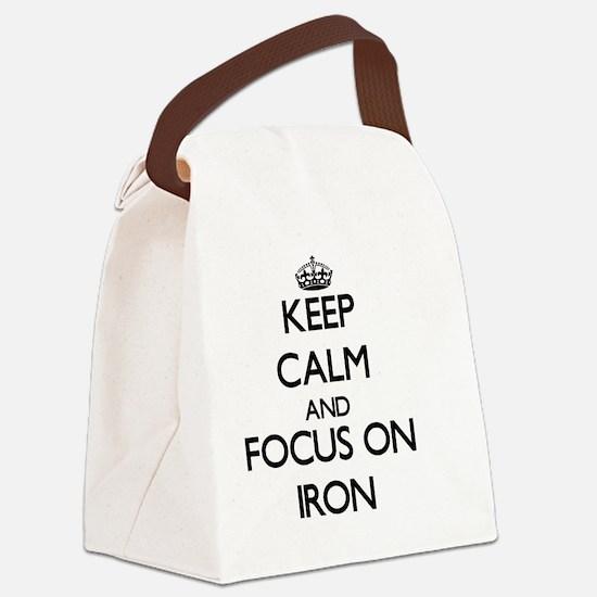 Ferrous Canvas Lunch Bag