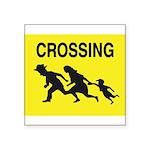Crossing Border Sticker