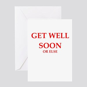 sarcastic get well greeting cards cafepress