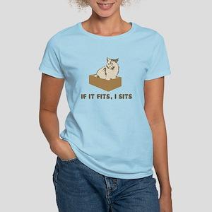 If It Fits, I Sits Cat T-Shirt