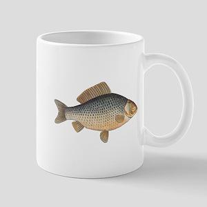 Vintage Carp Freshwater Fish Drawing Mugs