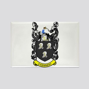 O'KENNEDY Coat of Arms Rectangle Magnet