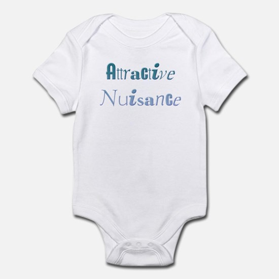 Attractive Nuisance (Blue) Infant Bodysuit