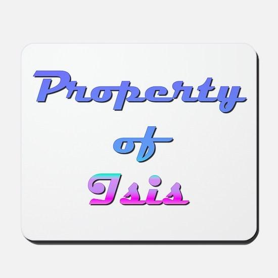 Property Of Isis Female Mousepad