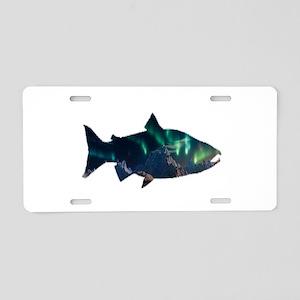 AURORA Aluminum License Plate