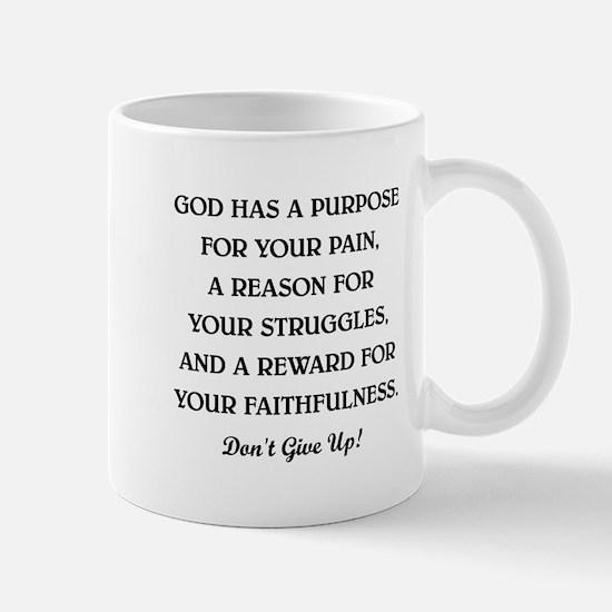 GOD HAS A... Mug