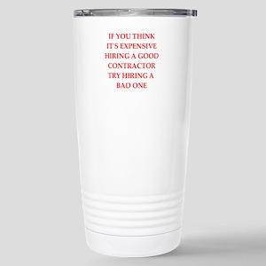 contractor Travel Mug