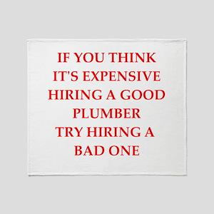 plumber Throw Blanket